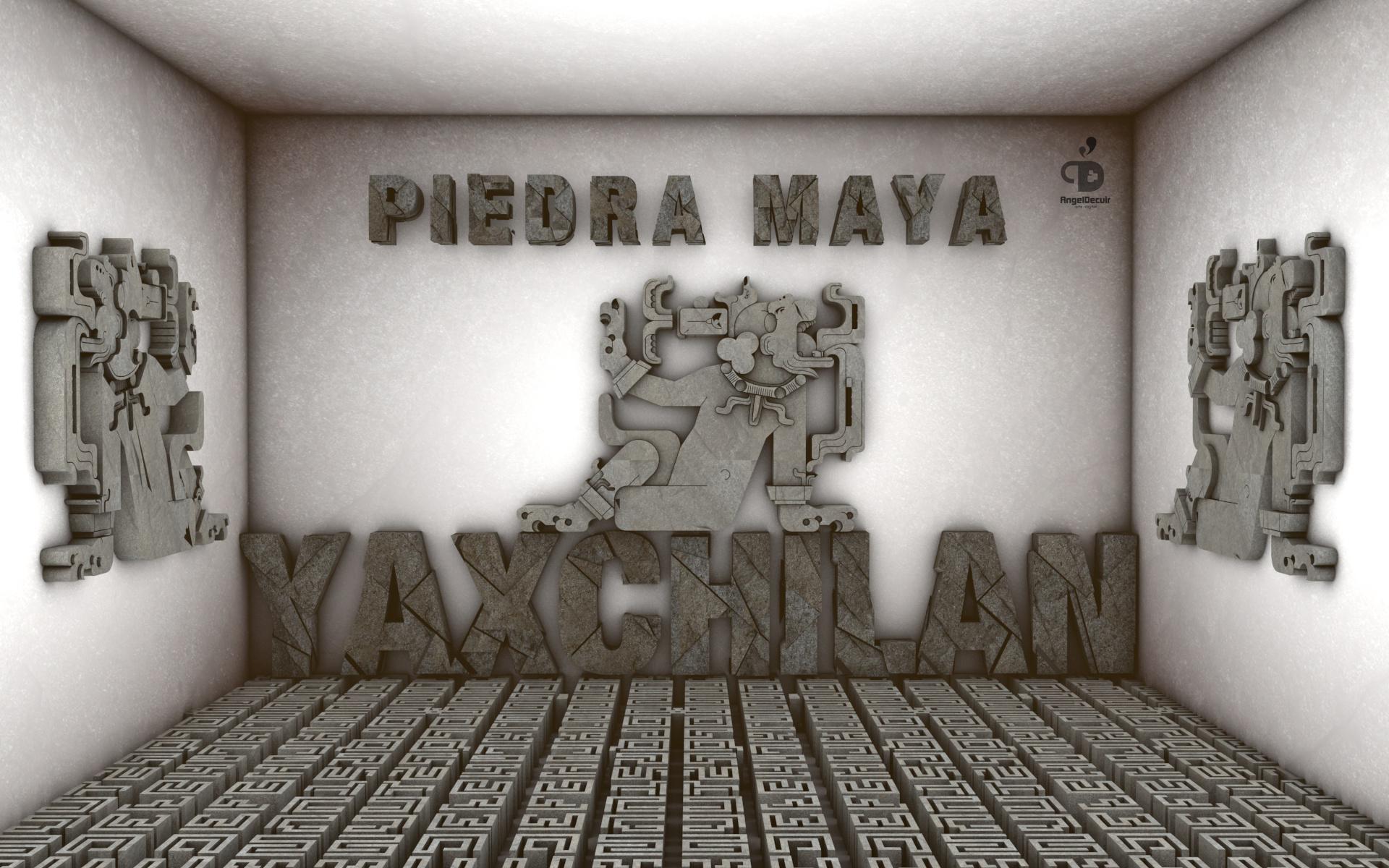 piedra maya yaxchilan