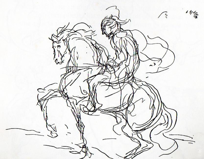 expresión gestual en el dibujo