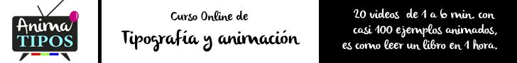 Video curso Anima TIPOS, Aprende diseño de tipografía y animación