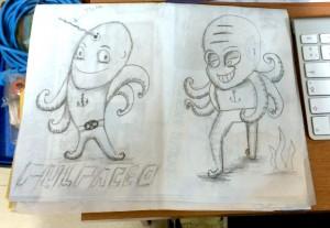 sketch-pulpo