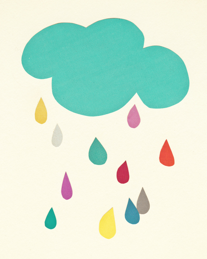 Sunshine and Showers by Cassia Beck