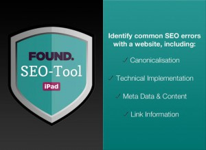 Found SEO Tool iPad