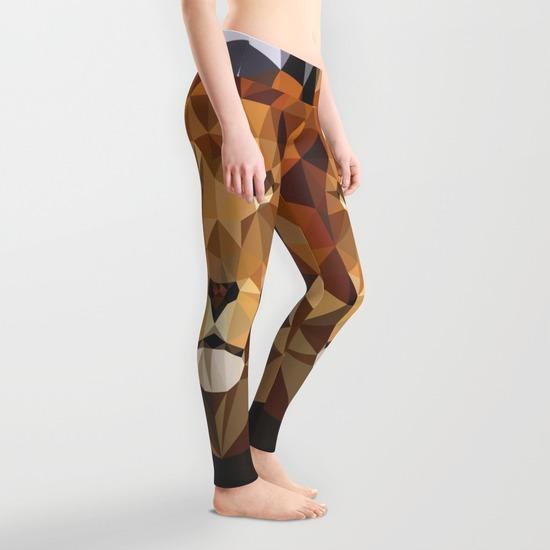 Leggings Lion Techy Art -