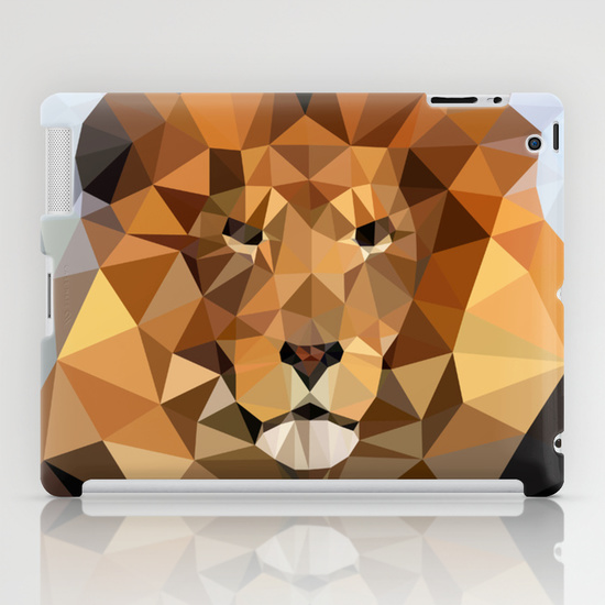 iPad - Lion Techy Art