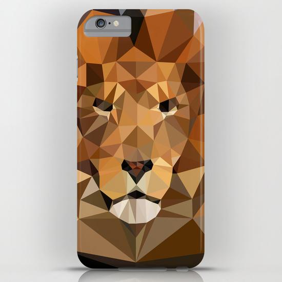 iPhone 6 plus - Lion Techy Art