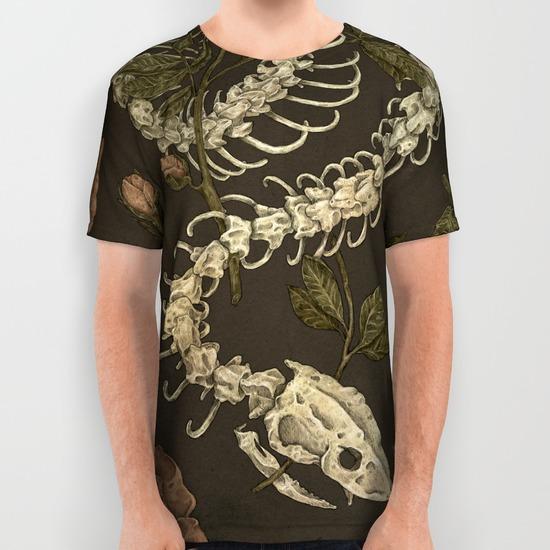 Snake Skeleton by Jessica Roux