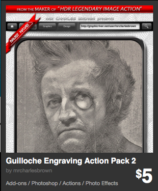 Guilloche Engraving Action Pack 2