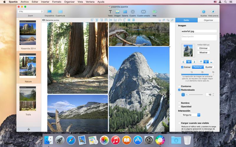 Sparkle Visual Web Design_