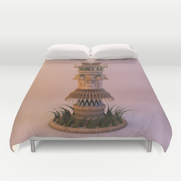 animal-tiki-3d-duvet-covers