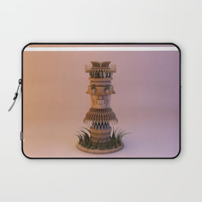 animal-tiki-3d-laptop-sleeves