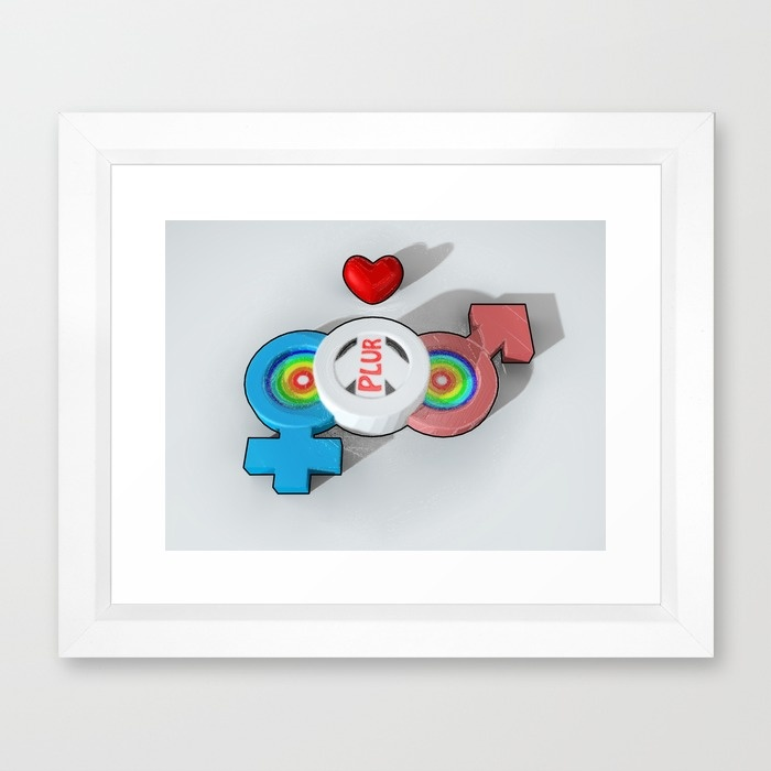 candy-plur-3d-framed-prints