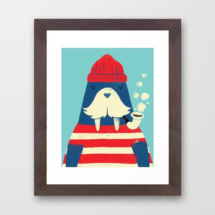 10- the-walrus-42f-framed-prints