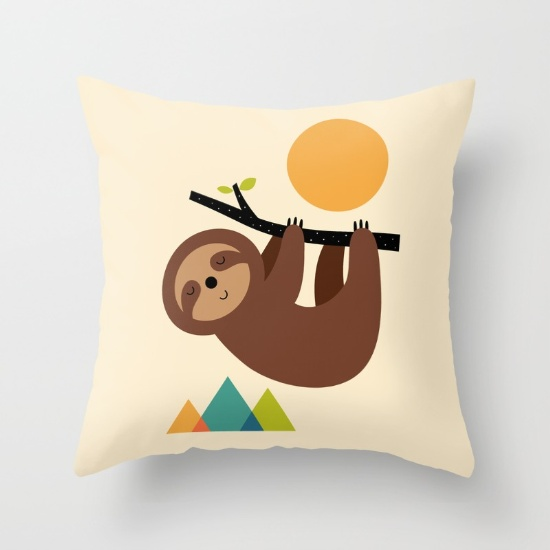 14- keep-calm-and-live-slow-pillows