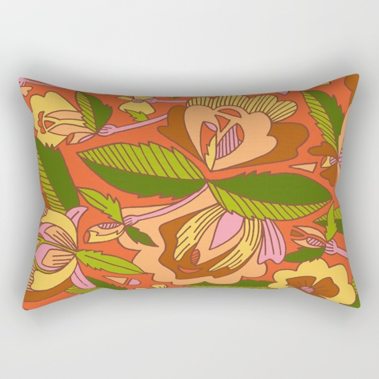 18 70s-flat-furniture-floral-rectangular-pillows