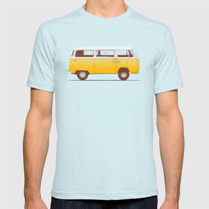 8 yellow-van-tshirts