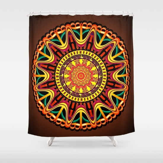 mandala-orange-zjv-shower-curtains