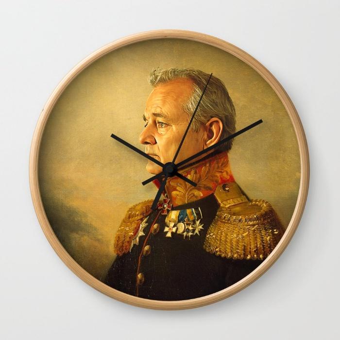 14-bill-murray-replaceface-wall-clocks