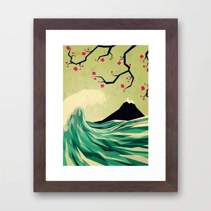 16-falling-in-love-kkj-framed-prints