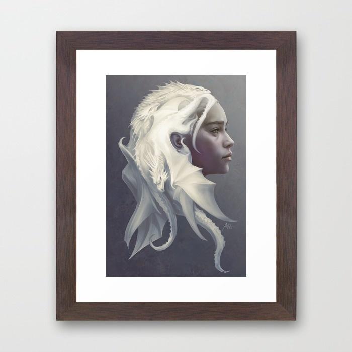 2-mother-or-dragons-framed-prints