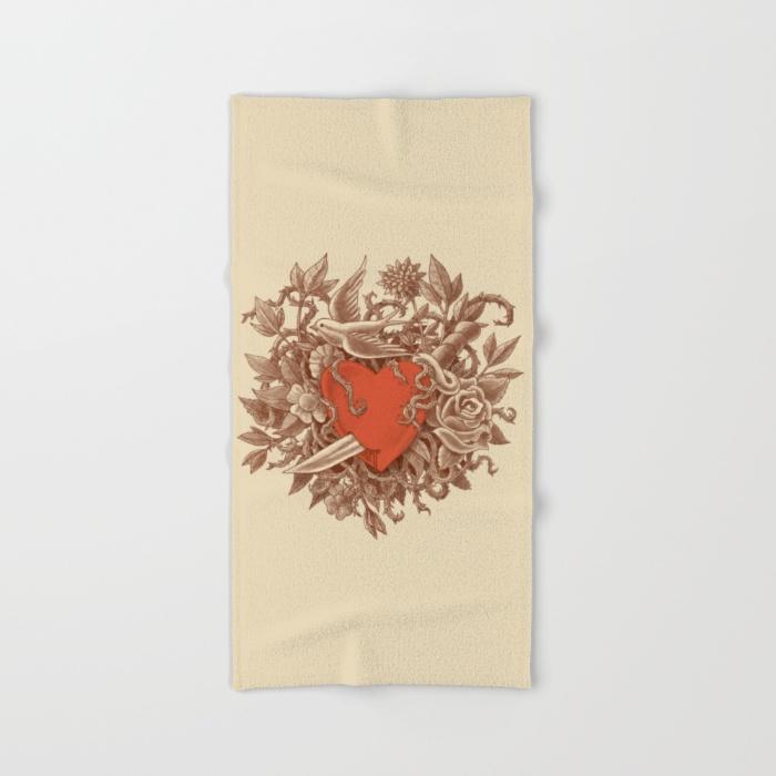 7-heart-of-thorns-bath-towels