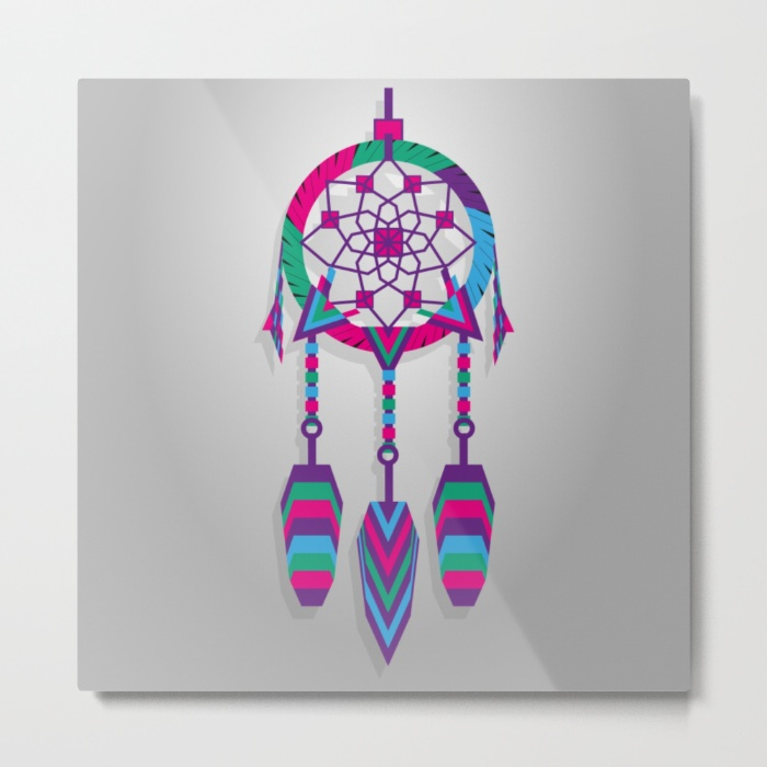 dreamcatcher-kaq-metal-prints
