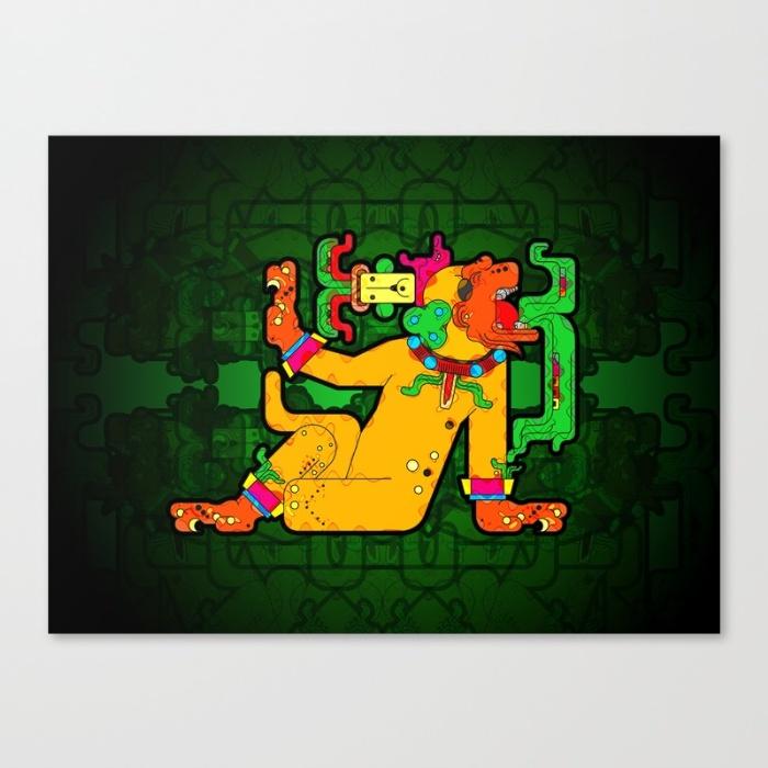 yaxchilan-maya-tiger-xf4-canvas
