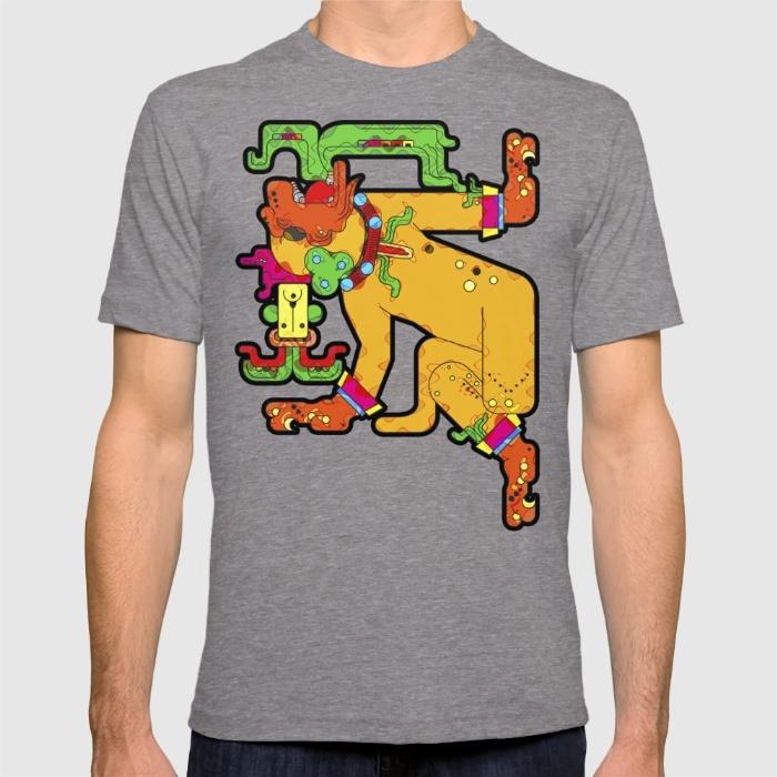 yaxchilan-maya-tiger-xf4-tshirts