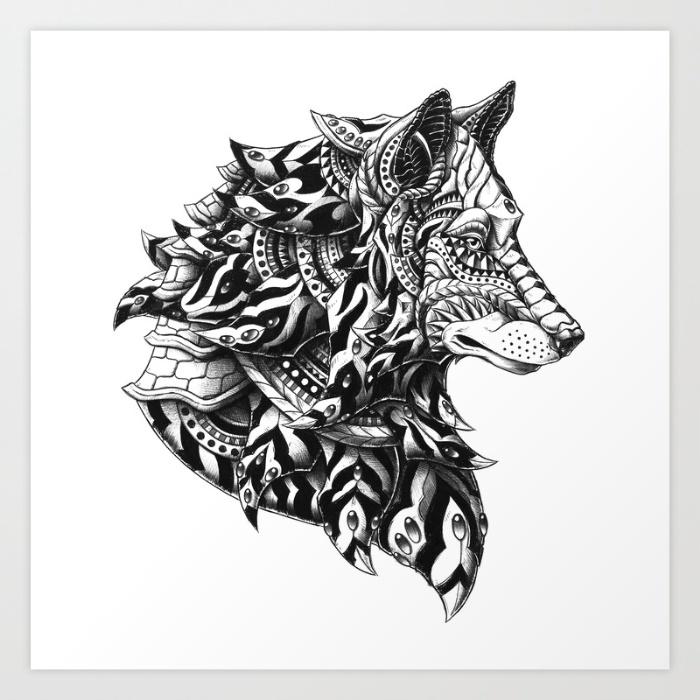 9-wolf-profile-n9t-prints