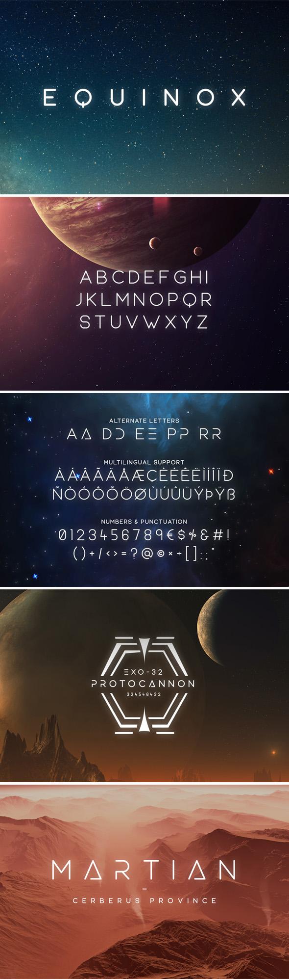 equinox-typeface