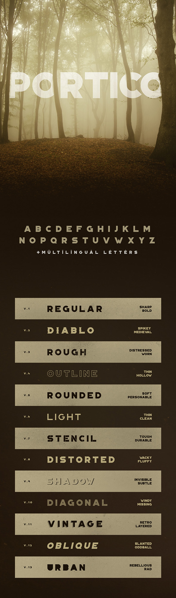 portico-typeface