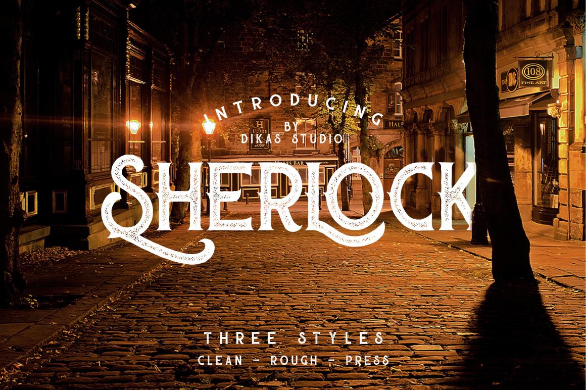 sherlock-typeface