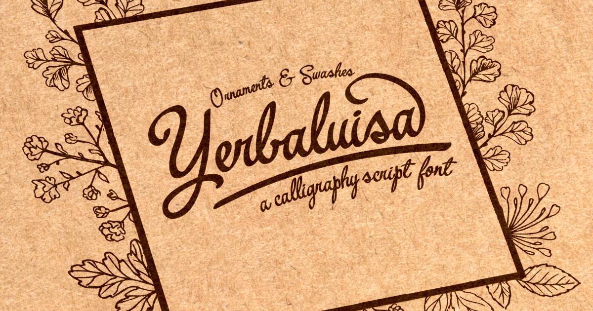 yerbaluisa-font