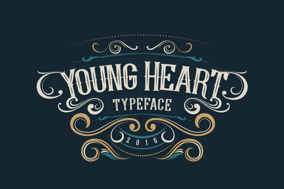 young-heart-typeface