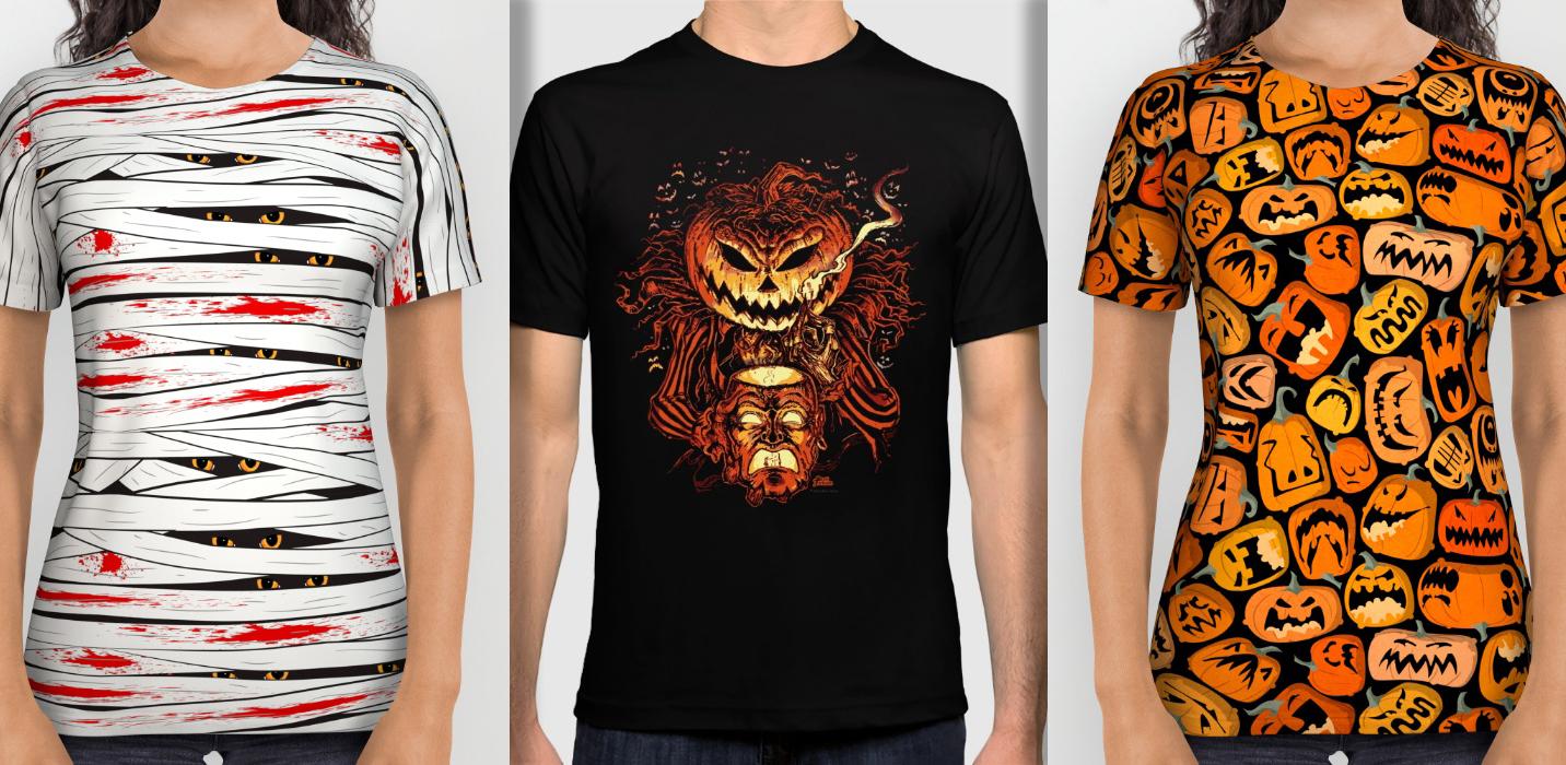 halloween-art-print-society6