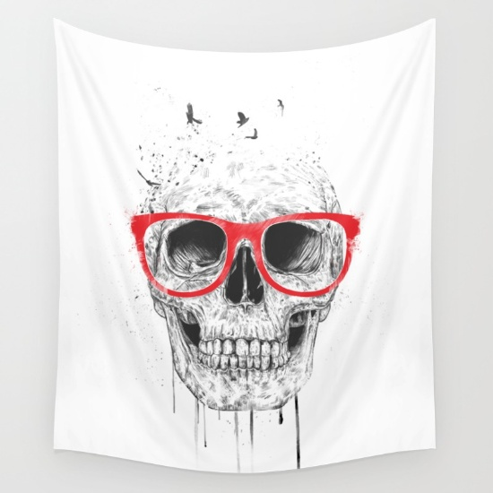 4-skull-with-red-glasses-tapestries