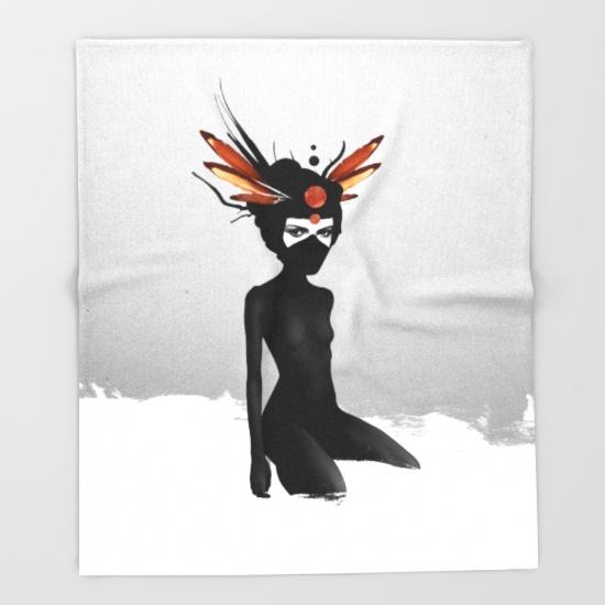 dreamcatcher-hyd-throw-blankets