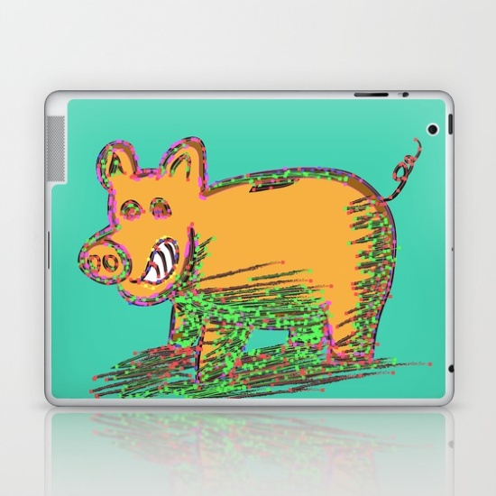 pig-vector-selection-laptop-skins