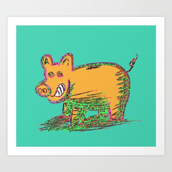 pig-vector-selection-prints