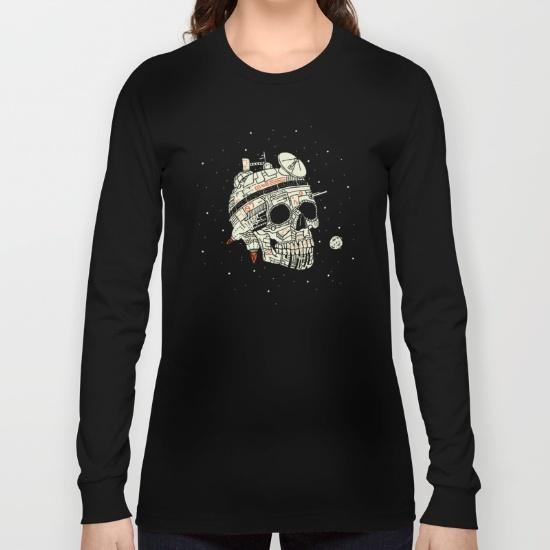 planet-space-skull-long-sleeve-tshirts