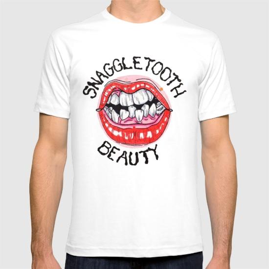 snaggletooth-beauty-tshirts