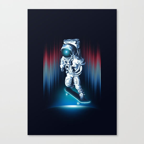 space-skater-canvas