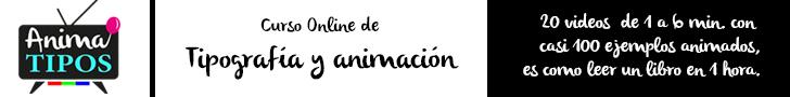Curso Online de tipografía y animación - Anima TIPOS