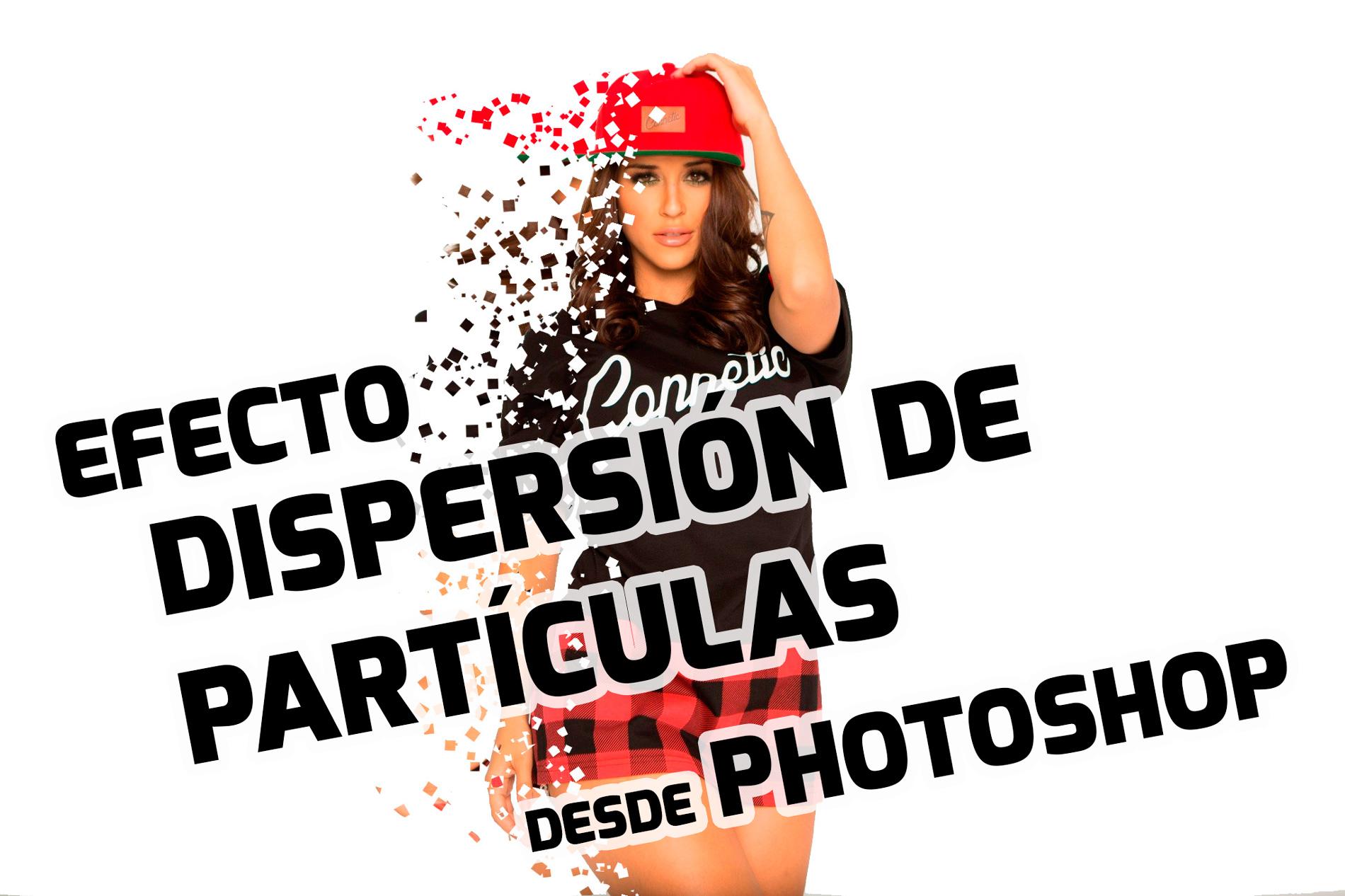 dispersión de partículas