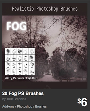 20 Fog PS Brushes by 1001Graphics