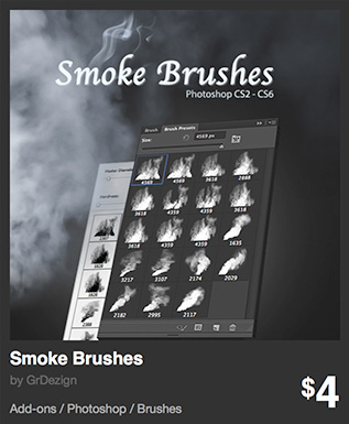 Smoke Brushes by GrDezign