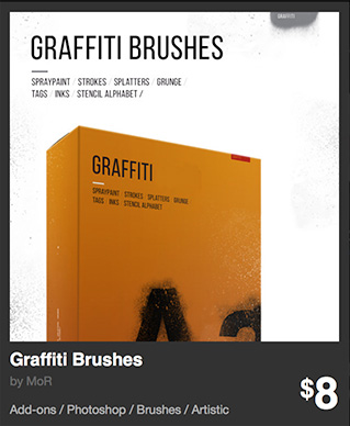 Graffiti Brushes by MoR