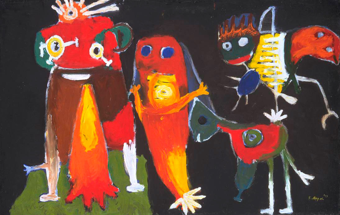 Karel Appel - Hip hip Hoorah