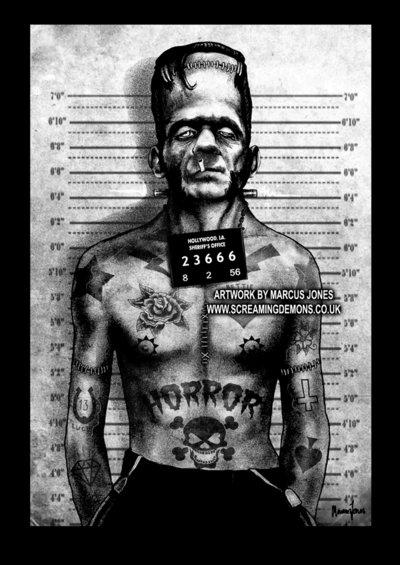 Tattooed Franky