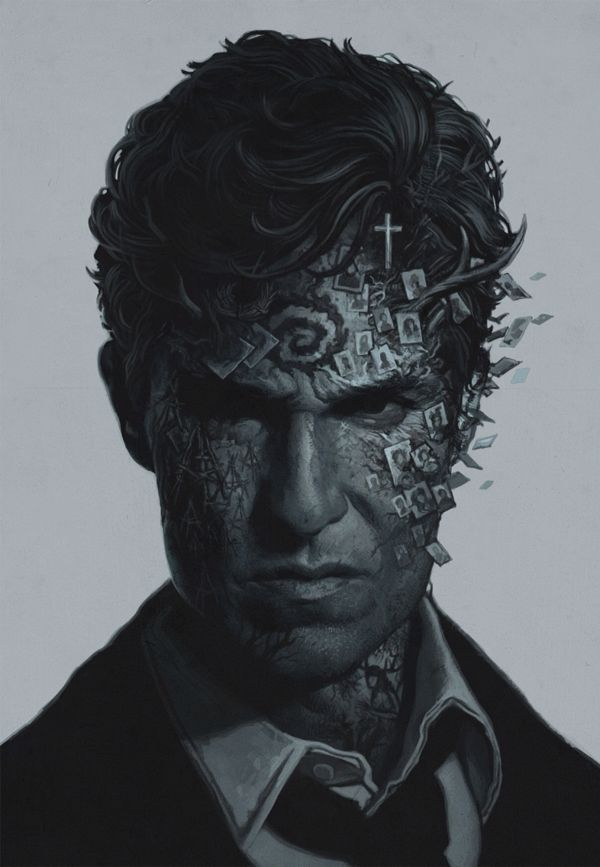 True Detective poster - Yuri Shwedoff