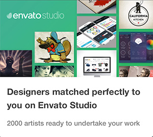 Design & Graphics Services on Envato Studio